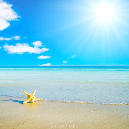 пляж фон на море фото