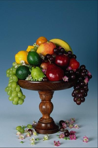 Вазы из фруктов фото