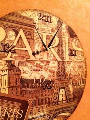 Декупаж - часы_париж3.jpg