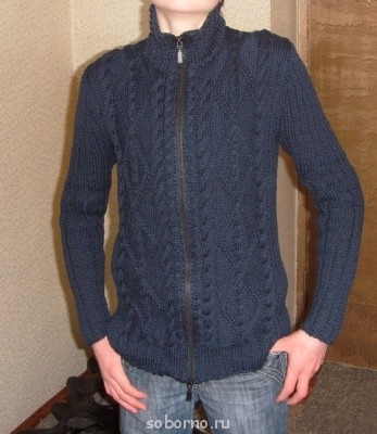 Вязание на спицах - джемпер.jpg