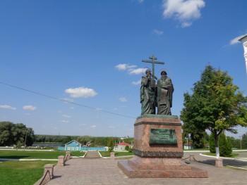 Памятник Кириллу и Мефодию - DSC00463.JPG