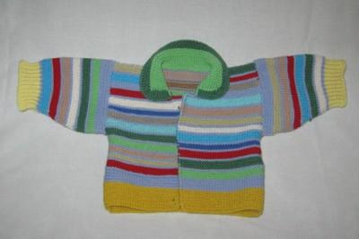 Вязание на спицах - raznocvetnaya kofta.jpg