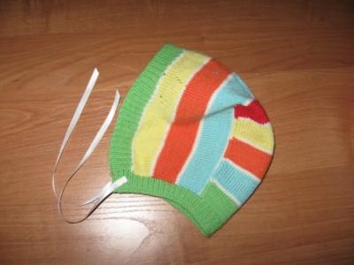 Вязание на спицах - polosatiy chepchik.jpg