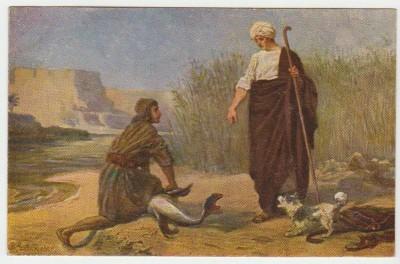 Христианская культура в картинках - Image X11 Tobie et l ange Tobie 6  6.jpg