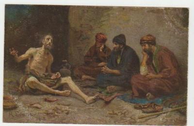 Христианская культура в картинках - Image V11 Maladie et patience de Job Job 2  8-13.jpg